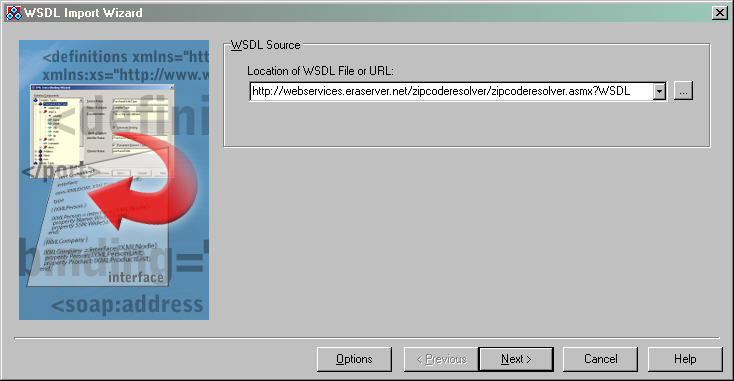 WSDL Import Loader