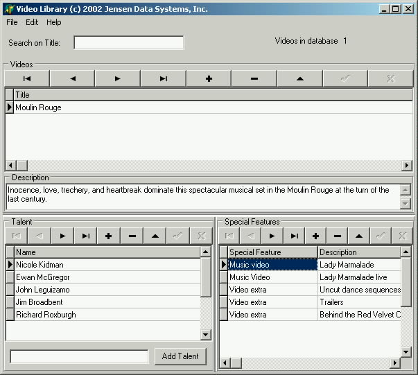Defining a ClientDataSet's Structure Using TFields